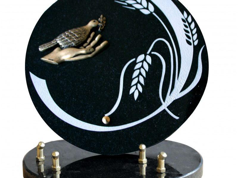 plaque funeraire grand mere